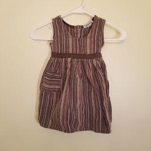 Indigenous sleeveless toddler dress